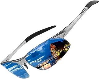 MOORAY Mens Sports Polarized Sunglasses UV Protection Fashion Sunglasses for Men Fishing Driving