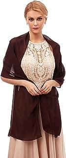 Women's Fashion Chiffon Wraps Scarve Shawls for Bridal Evening Party