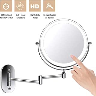 ZEPHBRA Wall Mounted Makeup Mirror 8