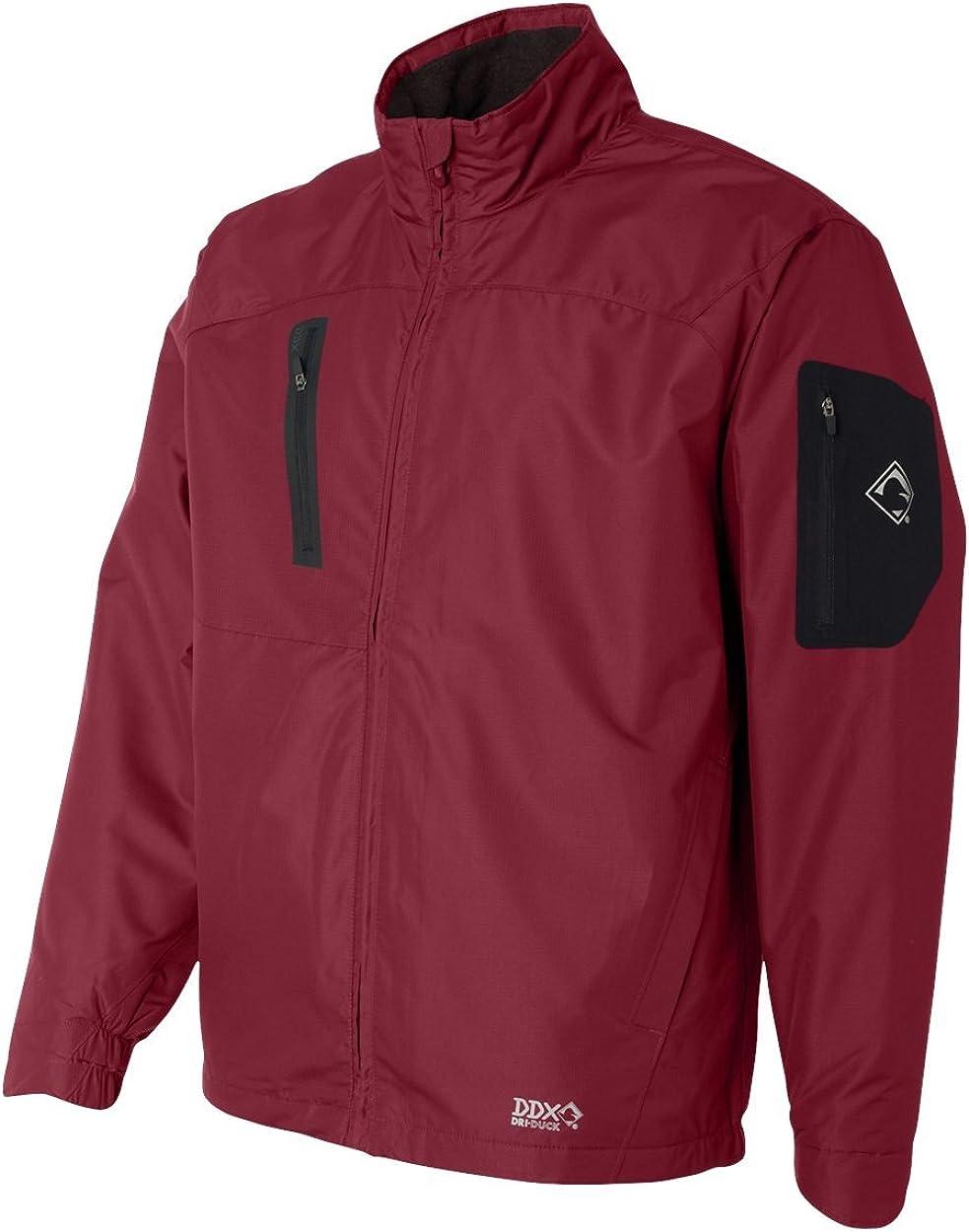 DRI Duck Glacier Mini-Ripstop Jacket with Polar Fleece Lining 5320