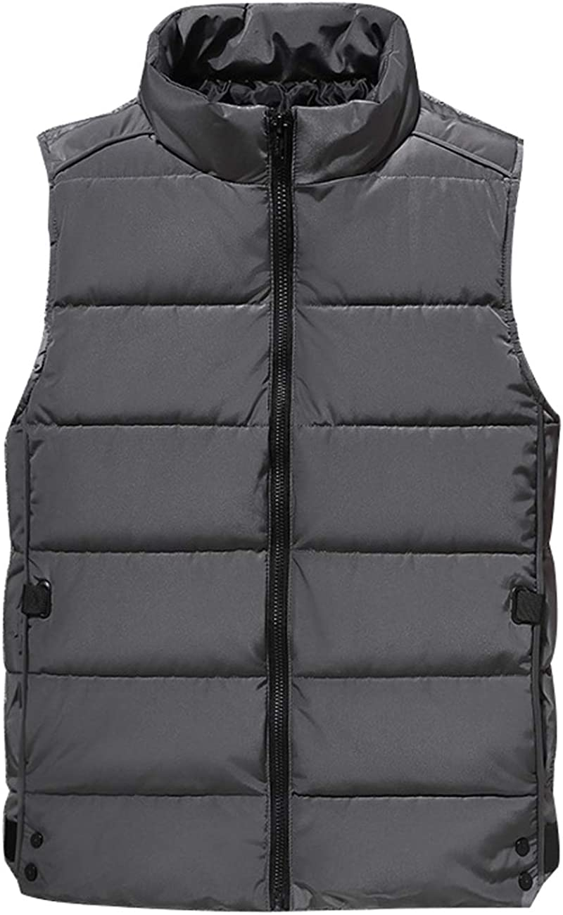 Zoulee favorite Unisex Winter Stylish Down Vest Padded Max 62% OFF Warmer