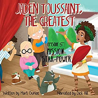 Jaden Toussaint, the Greatest audiobook cover art