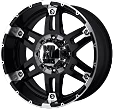 XD Series by KMC Wheels XD797 Spy Gloss Black Wheel With Machined Face (18x8.5