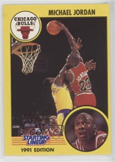 Michael Jordan (Basketball Card) 1991 Kenner Starting Lineup - [Base] #MIJO.1