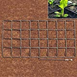 Garden Grid Watering System | Preassembled Drip Irrigation, Soaker Hose & Sprayer Style kit, in one | Raised Beds, Planters, Containers, Square Foot Gardening - 4x8 (44'x88')
