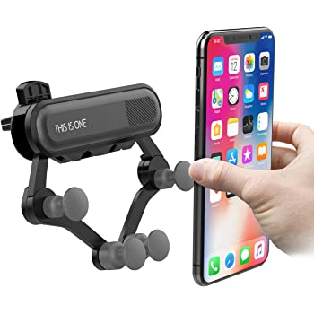 Samsung Car Cell Phone Mount Holder Android Smartphones Huawei Air Vent Gravity Universal Phone Holder Compatible with iPhone