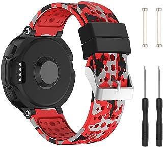 Cytech Correa para Garmin Forerunner 235 Pulsera, Coloridos Reloj Silicona Reemplazar Banda Pulsera para Garmin Forerunner 235/220/230/620/630/735XT