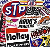 Grab Bag of 11 Nostalgia / Vintage Style Racing Decals
