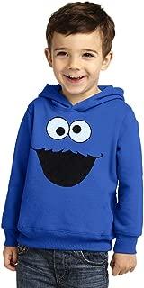 Sesame Street Cookie Monster Face Toddler Hoodie