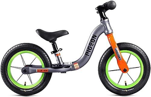 diseño único Bicicleta de equilibrio para Niños para Niños Niños Niños y niñas  no pedalee la bicicleta de entrenamiento deportivo con marco de acero al carbono, manillar y asiento ajustables - Bicicleta para Niños para Niños  tienda de descuento