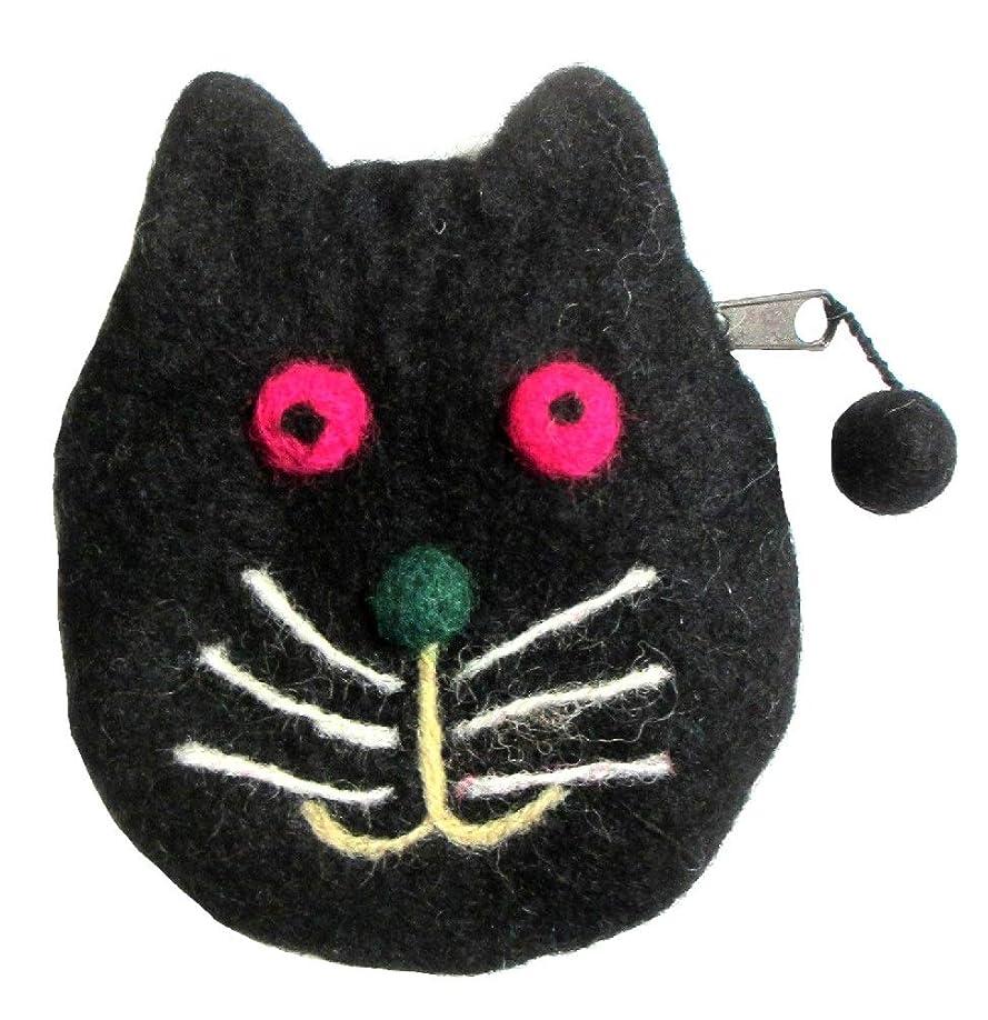 アルコールめったに心理的猫柄エスニックポーチエスニック衣料雑貨 エスニックアジアンファッション
