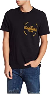True Religion Men's Handbill Graphic T-Shirt