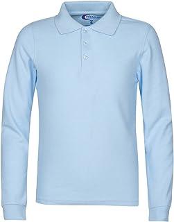 قمصان فاخرة باكمام طويلة للرجال من بولو - قمصان مقاومة للبقع للرجال