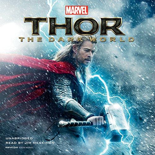 Marvel's Thor: The Dark World audiobook cover art