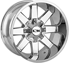 ION 141 Wheel with CHROME (20 x 12. inches /8 x 165 mm, -44 mm Offset