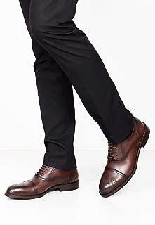 Gön Hakiki Deri Erkek Ayakkabı 36607 KAHVE ANTİK