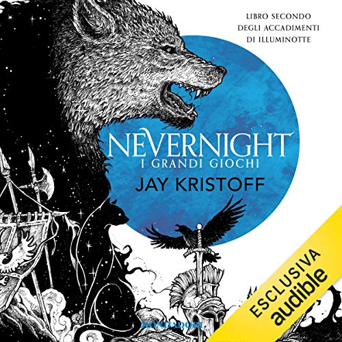 I grandi giochi. Nevernight cover art
