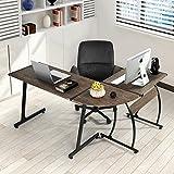 Fanilife moderner Computer-Schreibtisch, L-förmiger-Fanilife-Schreibtisch, Computertisch für den...