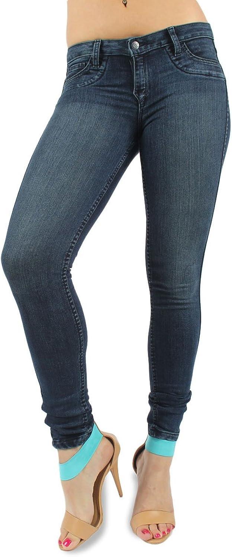 bluelab  Womens Curve Pocket Legging Reversible Jeans