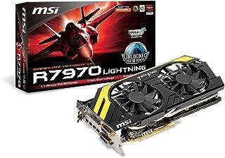 Msi V278-018R AMD Radeon HD 7970 GHz - Tarjeta gráfica (ATI, PCI-e, 3 GB, Memoria GDDR5, Mini DisplayPort, DVI-I/D, 1 GPU)