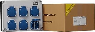 Stromverteiler 6x230V FRED4 Wandverteiler Baustromverteiler 2978