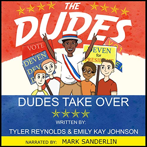 Dudes Take Over audiobook cover art
