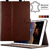 iPad Pro 12.9 Hülle Etui Echt Leder Case Cover Ständer Mit Apple Pencil Stift Halter Für iPad Pro...