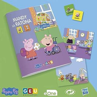 Peppa Pig Cuentos con pictogramas   Mandy La Ratona: Compartir con amigos y respetar todo tipo de Dificultades y discapaci...