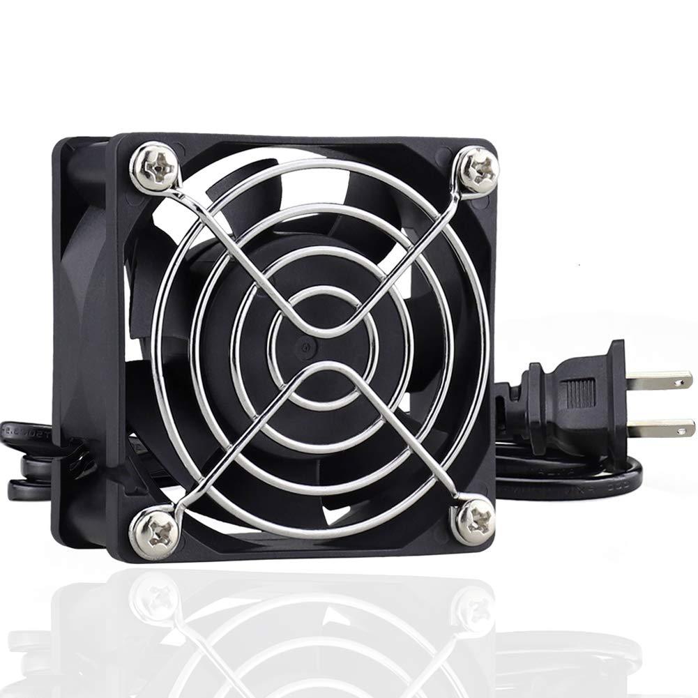 GDSTIME AXIAL 6025, New Muffin Fan, 110V 115V 120V 240V AC 60mm x 25mm Hydraulic Bearing