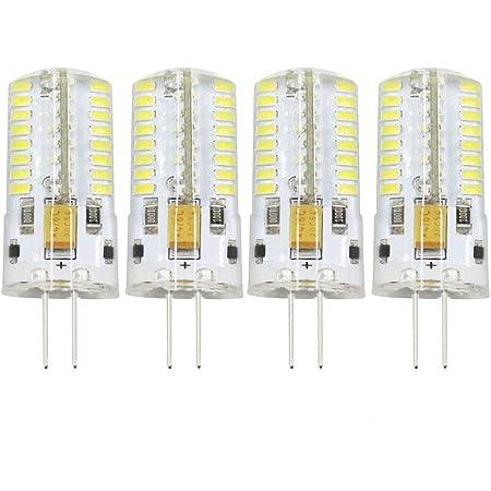 WARM WHITE 12v 4W G4 LED BULBS 18 x 5050 SMD LEDS CORN SPOTLIGHTS CAPSULES DAY