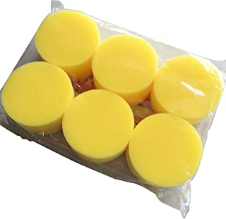 WOVELOT Car 12 pcs applicator pad foam applicator pad wax polish care red