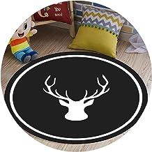 Area Rugs Round Floor Mat Nursery Rugs Estilo Nórdico Minimalista Moderno Adecuado para El Hogar Sala De Estar Dormitorio ...