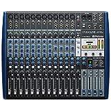 StudioLive AR16c Interfaz de audio/Mezclador analógico/Grabadora SD estéreo de 18 canales compatible con USB-C