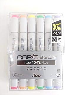 COPIC SKETCH BASIC B 12 Colors