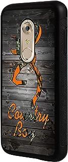 Axon 7 Case, ZTE Axon 7 Case,BOSLIVE Orange Camo Country Boy Wood Background Design TPU Slim Anti-Scratch Protective Cover Case for ZTE Axon 7