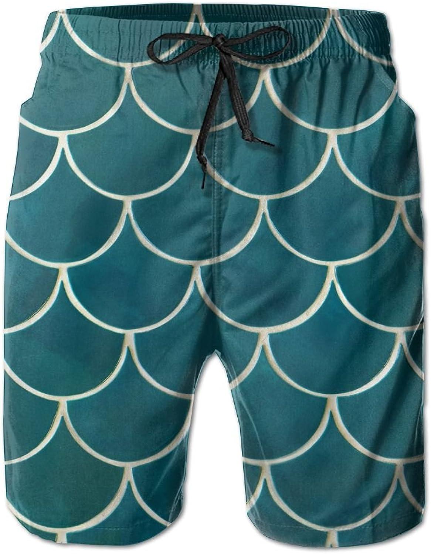Men's Shorts Lake CalhounBeach Board Short Elastic Waist Trunk Quick Dry Swim With Pockets