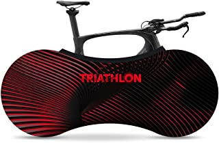VELOSOCK Bicycle Bike Covers for Indoor Storage - THRIATLON Collection - Keeps Floors and Walls Dirt-Free - Fits 99% of All Adult Bicycles