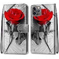 Laybomo Apple iPhone 11 Pro ケース カバー 手帳型, [カードスロット]および[キックスタンド]付きの磁気閉鎖完全保護設計ウォレットフリップ 財布型カバー対応 Apple iPhone 11 Pro電話ケース, 塗る 4