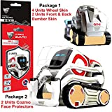IPG for Cozmo Robot Face Screen Guard KIT Excellent Protector from Unexpected Attacks of Kids and Pets. Include Wheels & Bumpers Decoration Set (Brushed Gold)