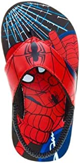 Marvel Ultimate Spider-Man Sling Back Flip Flops US Toddler