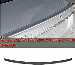 XKCCHW Adecuado para Mercedes-Benz CLS W219 AMG-Style Spoiler Trasero del Coche 2009-2014 alerón del Coche CLS300 350500 Maletero Labio rígido