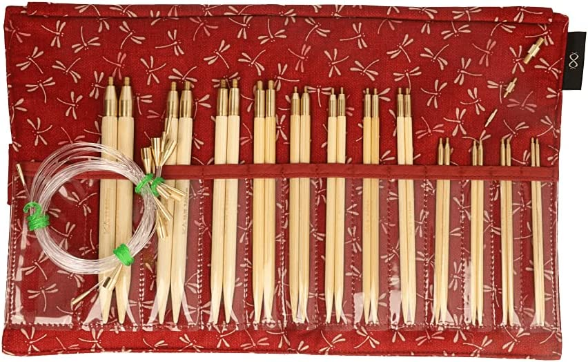 Seeknit KA57825-02 Circular Knit Set, std, Red