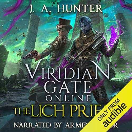 Viridian Gate Online: The Lich Priest audiobook cover art