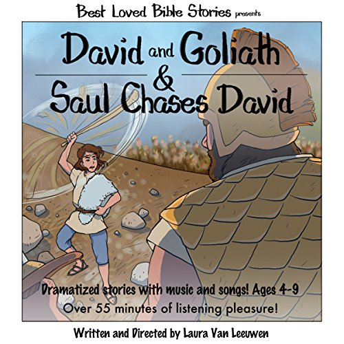 David and Goliath & Saul Chases David audiobook cover art