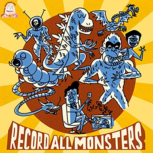 RECORD ALL MONSTERS! Podcast By Robert Kelly cover art