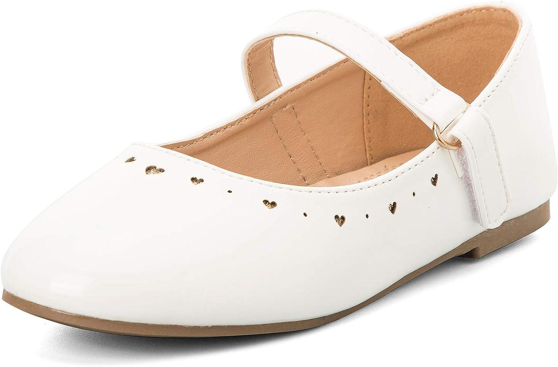 K KomForme Toddler Philadelphia Mall Girls Flat Shoes Superior Ballet Non-Slip Ja Soft Mary