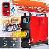 24V 5KW Air Diesel Fuel Heater Set para automóviles, Furgonetas, Camiones, vehículos recreativos, Barcos, remolques, autocaravanas, Todo en 1 Monitor LCD