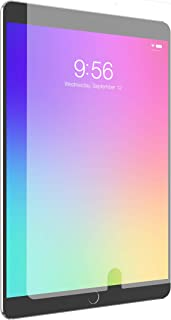ZAGG InvisibleShield Glass+ VisionGuard - Blocks Harmful high-Energy Visible (HEV) Blue Light and 99% of UV Light from Your Device - Made for Apple iPad 9.7