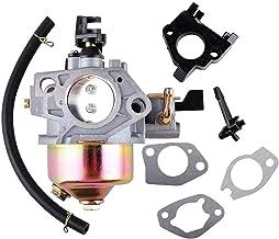 Poweka GX390 Carburetor with Fuel Filter Line Gasket for Honda GX 390 GX340 13HP 11HP Engine 16100-ZF6-V01