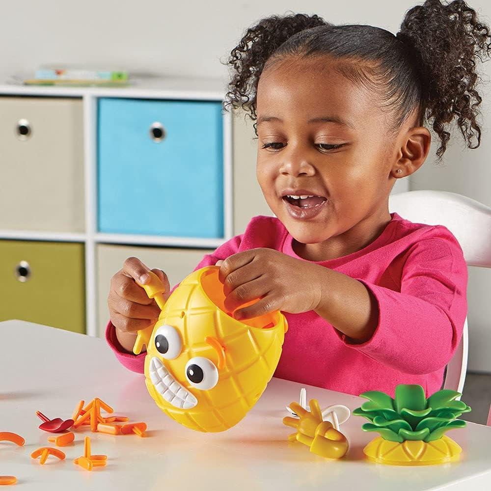 Big Feelings Pineapple - Little girl trying emotions
